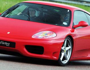 WIN a Ferrari Driving Thrill
