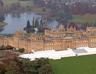 WIn a Champagne Tea for two at Blenheim