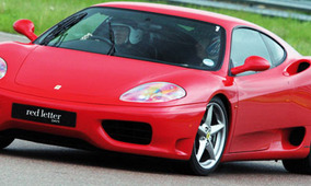 WIN a Ferrari Driving Thrill